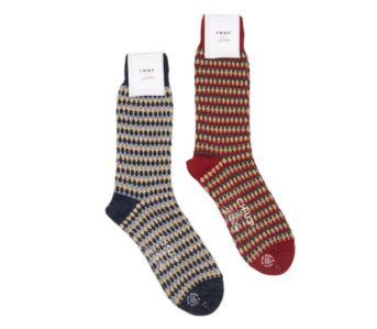 Chup-for-3sixteen-Pineapple-Forest-Socks-blue-and-red