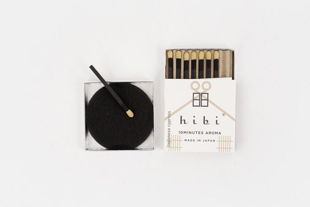 hibi-incense-matches