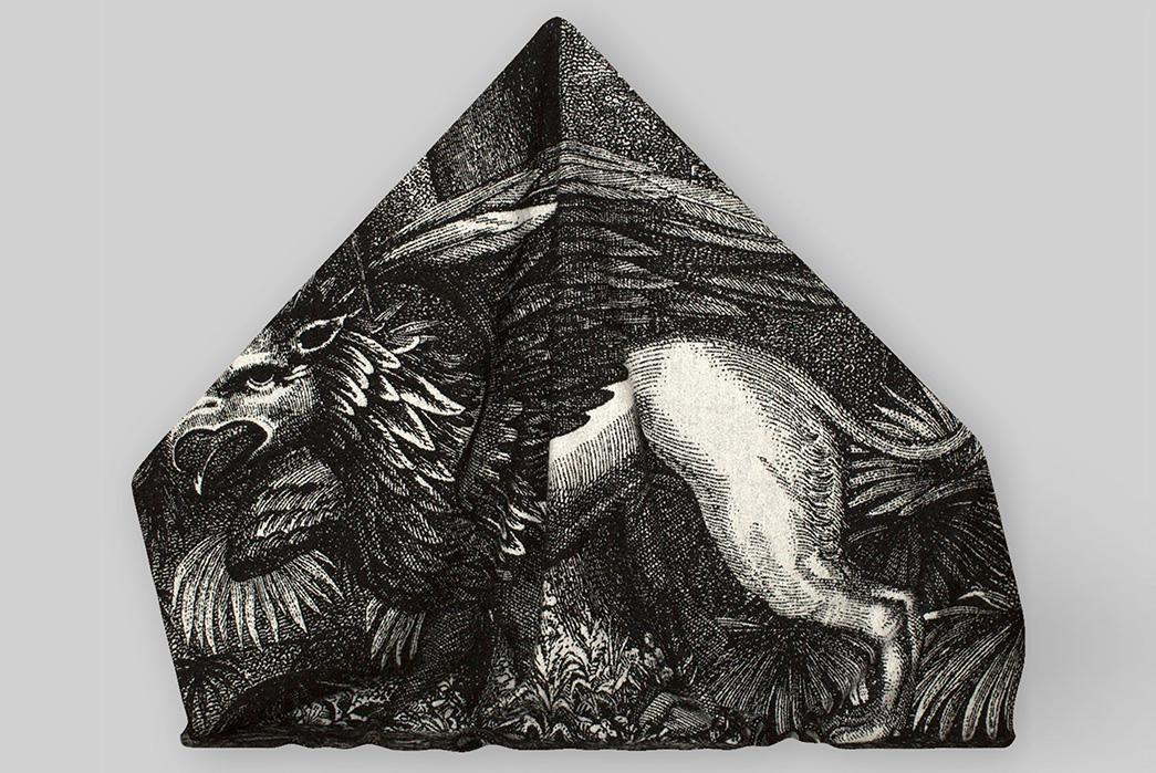 Indigofera-Norwegian-Wool-Blankets-animal-with-wings folded