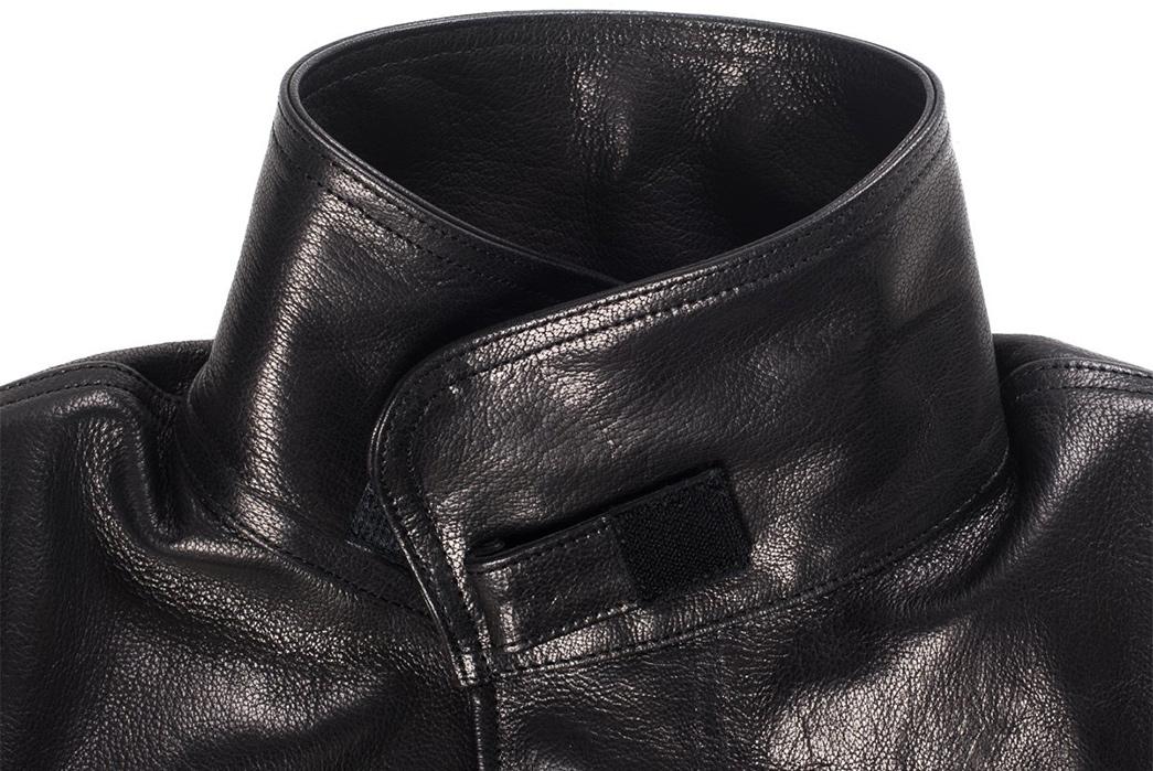 Iron-Heart-Goatskin-M65-front-collar