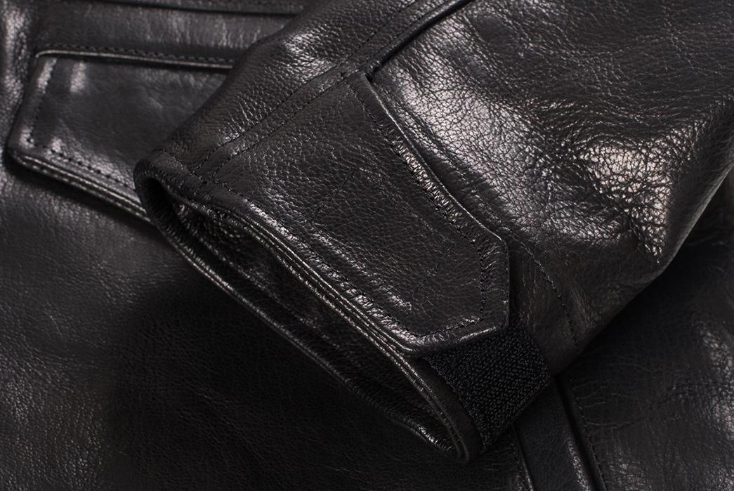 Iron-Heart-Goatskin-M65-front-sleeve