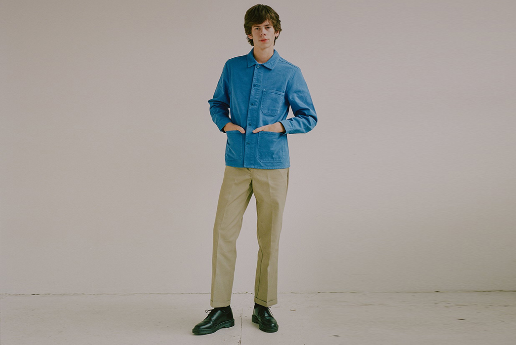 Knickerbocker-for-The-New-York-Times-male-model-front-blue-shirt