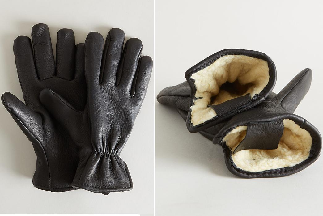 Leather-Gloves---Five-Plus-One-2)-Geier-Glove-Co-Lined-Deerskin-Gloves