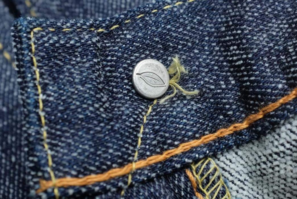 Pure-Blue-Japan-Chenille-Denim-Jeans-front-top-button-inside