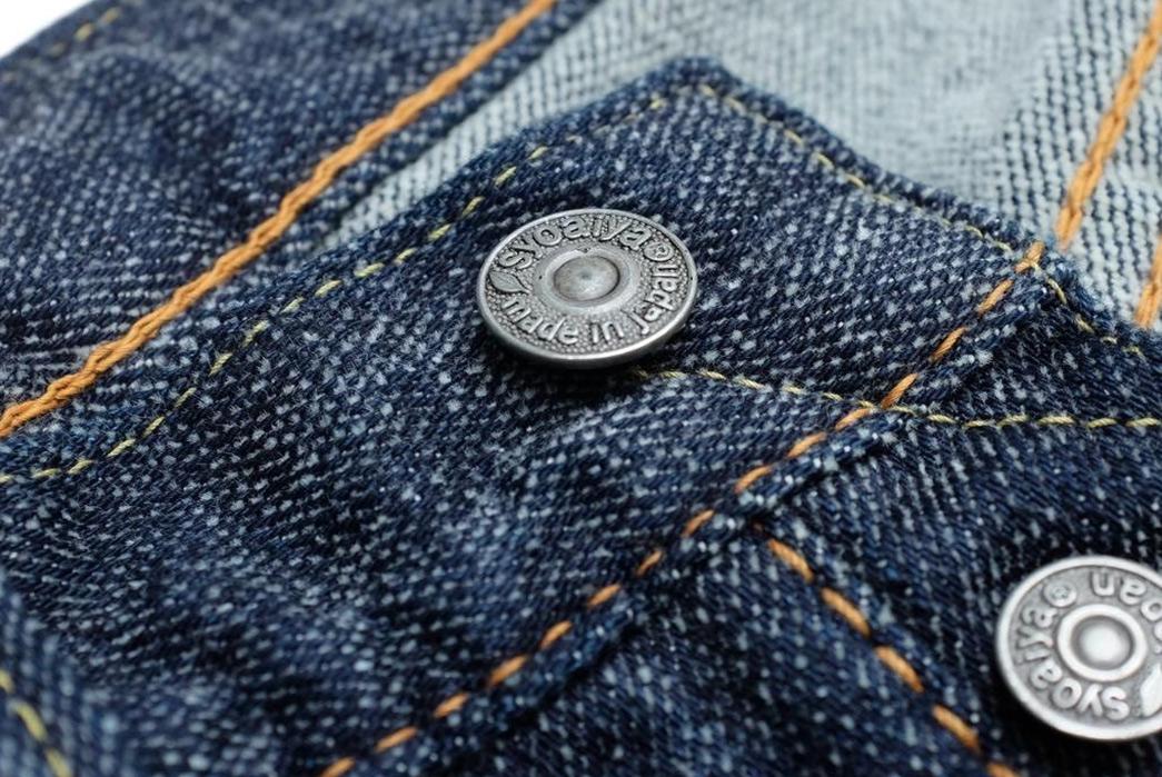 Pure-Blue-Japan-Chenille-Denim-Jeans-front-top-button