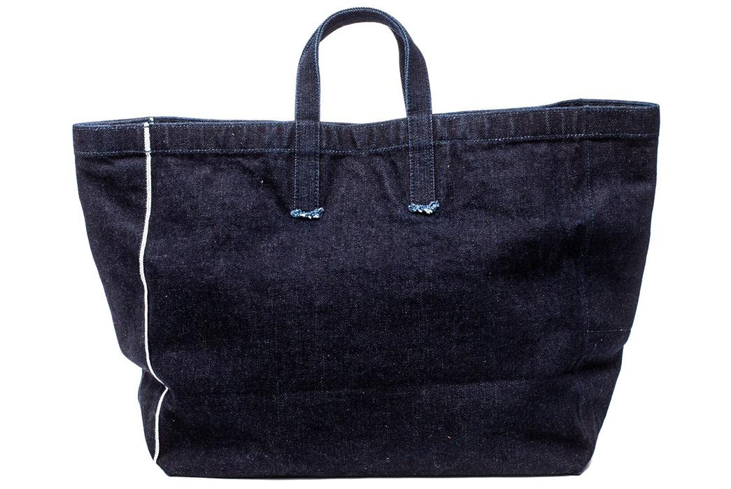 Stevenson-Overall-x-Sunset-Craftsman-21oz.-Selvedge-Denim-Tote-Bag-back