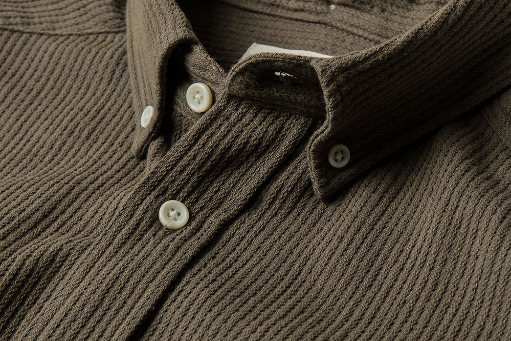 """Taylor Stitch Gives Long-Lost Cone Mills """"Corduroy"""" a Second Chance at Life"""