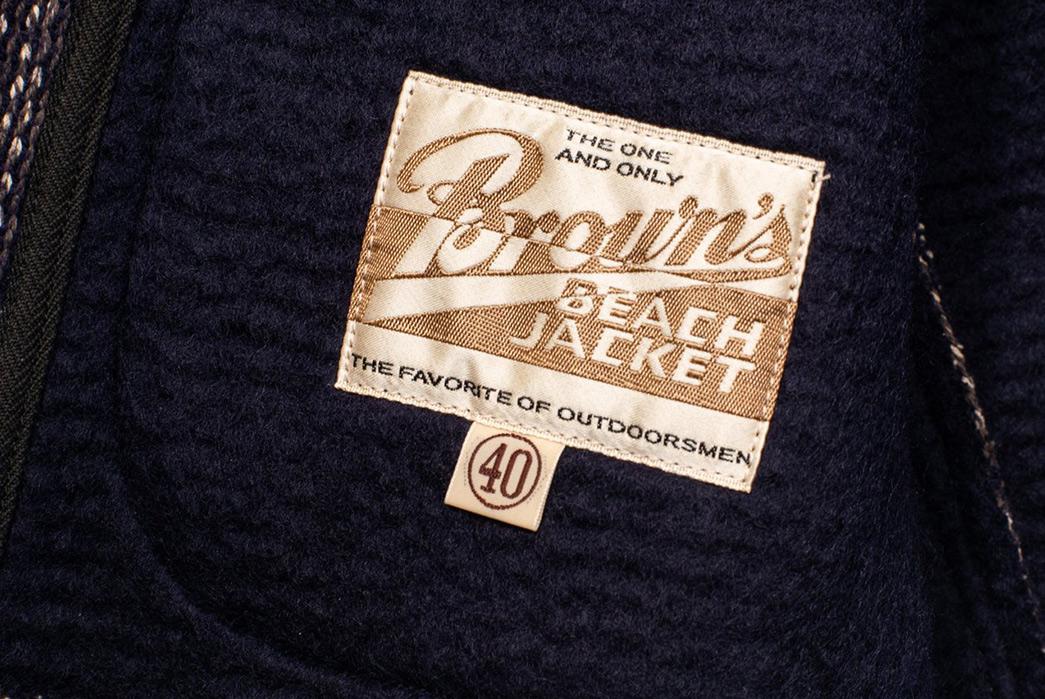 Brown's-Beach-BBJ-006-Shawl-Collar-Robe-inside-label