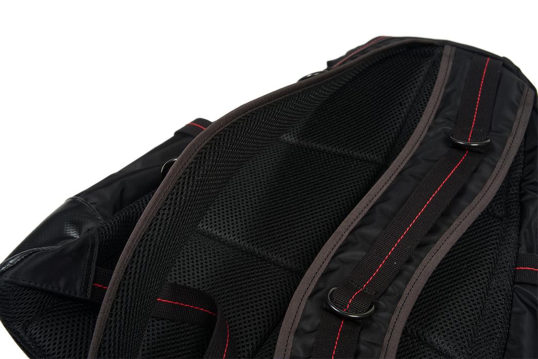 Buzz-Rickson-x-Porter-Backpack-black-back-detailed