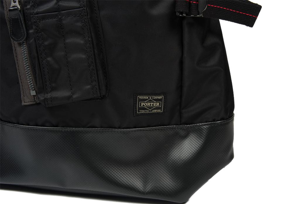 Buzz-Rickson-x-Porter-Backpack-black-pocket