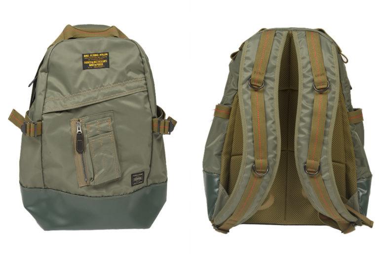 Buzz-Rickson-x-Porter-Backpack-light-front-back