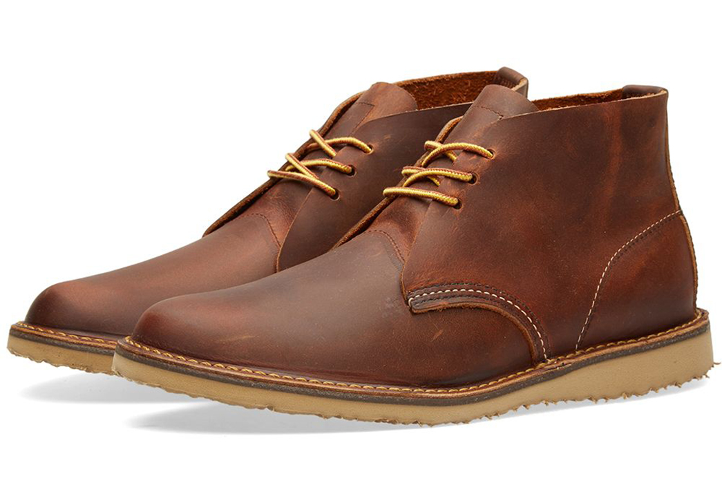 Chukka-Boots---Five-Plus-One-3)-Red-Wing-3322-Weekender-Chukka-in-Copper-Rough-&-Tough