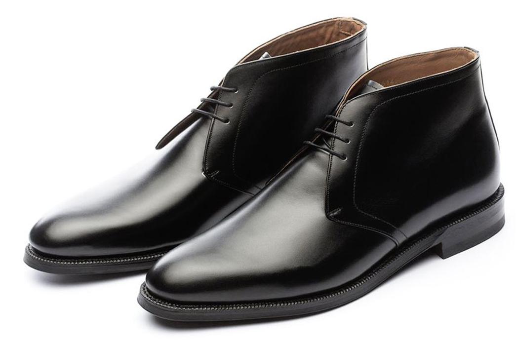 Chukka-Boots---Five-Plus-One 1) Meermin: Chukka in Black Calf