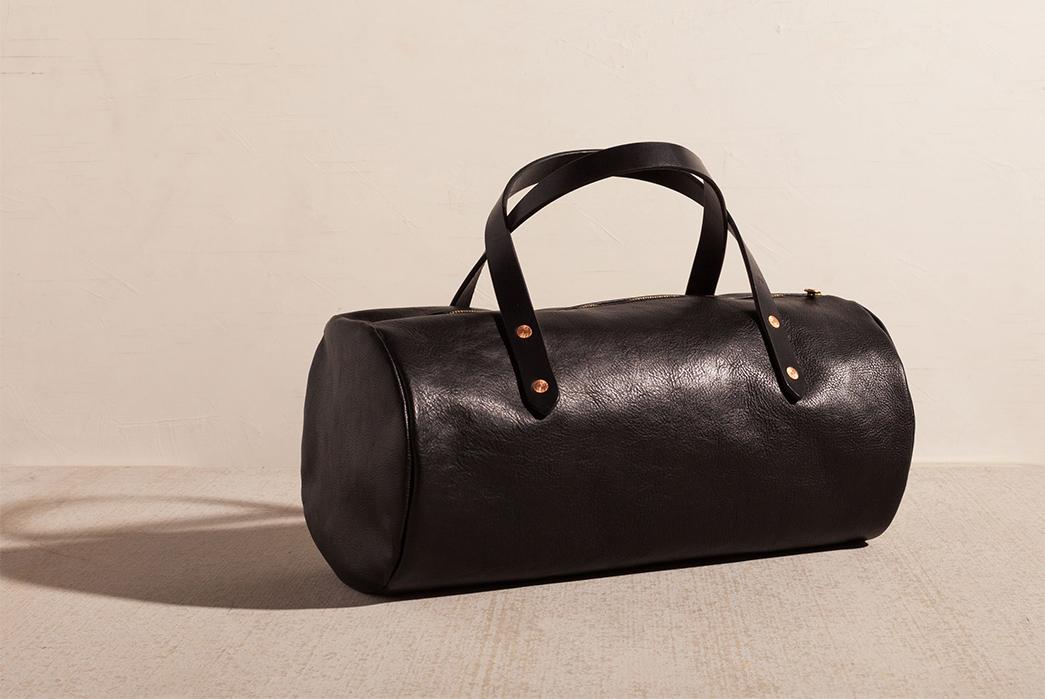 Joshu-+-Vela-Leather-Duffle-black
