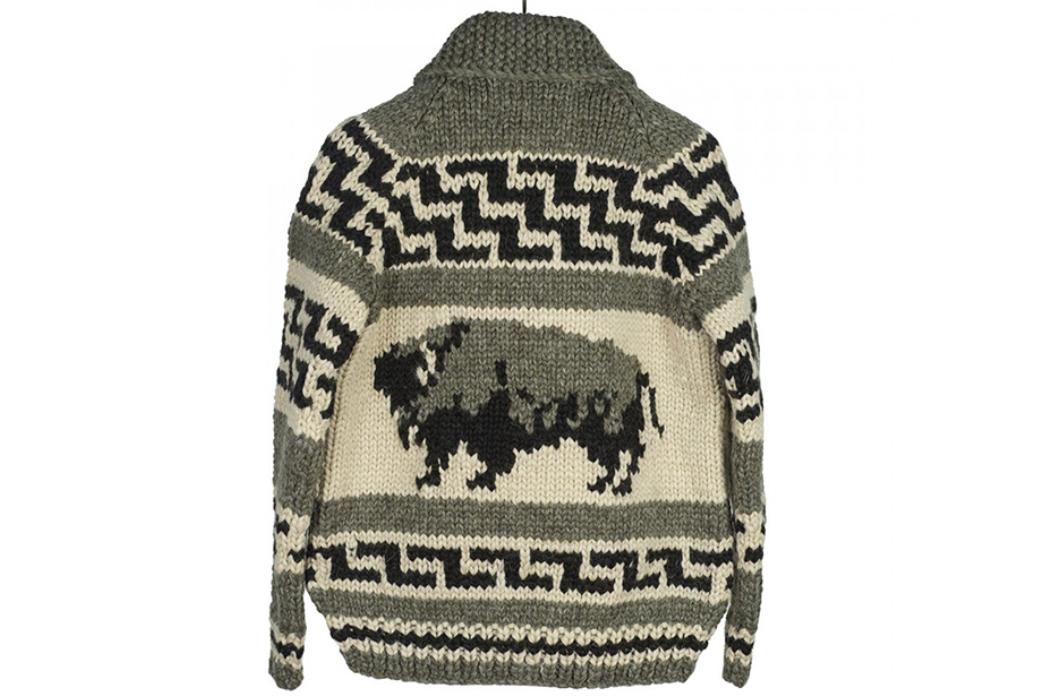 Kanata-Hand-Knit-Cowichan-Cardigans-grey-back
