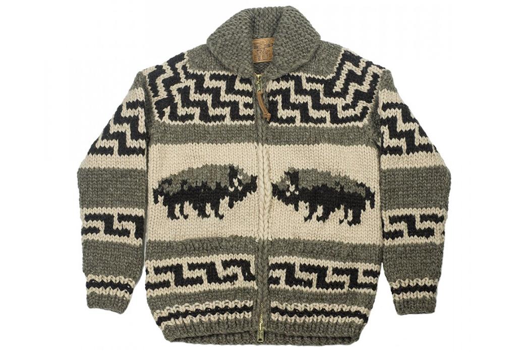 Kanata-Hand-Knit-Cowichan-Cardigans-grey-front