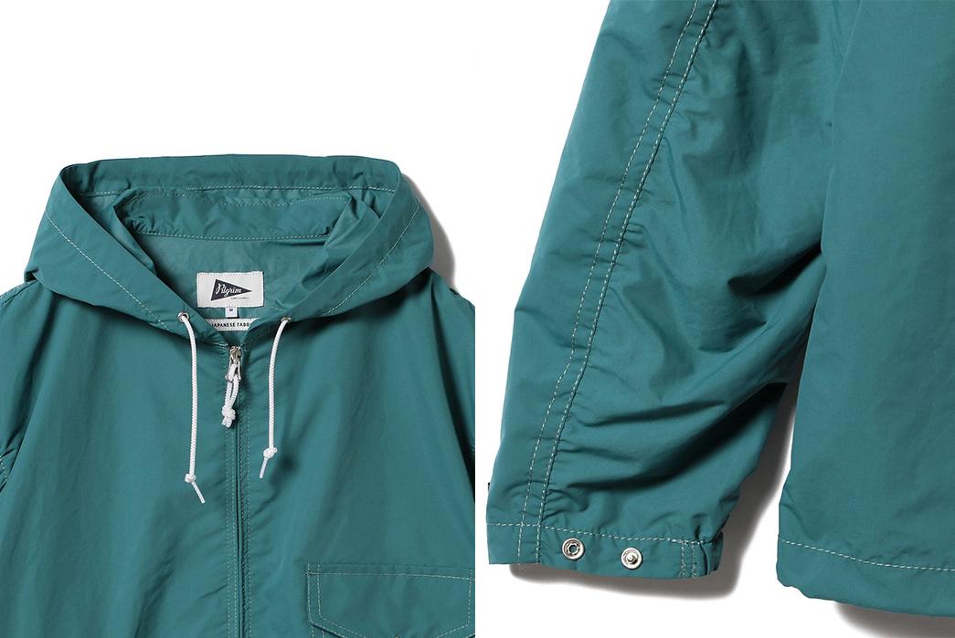 Pilgrim-Russel-Zip-Parka-blue-front-top-and-left-sleeve