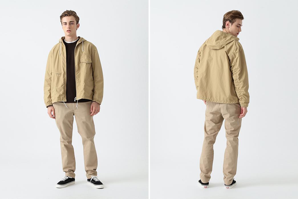 Pilgrim-Russel-Zip-Parka-model-front-back