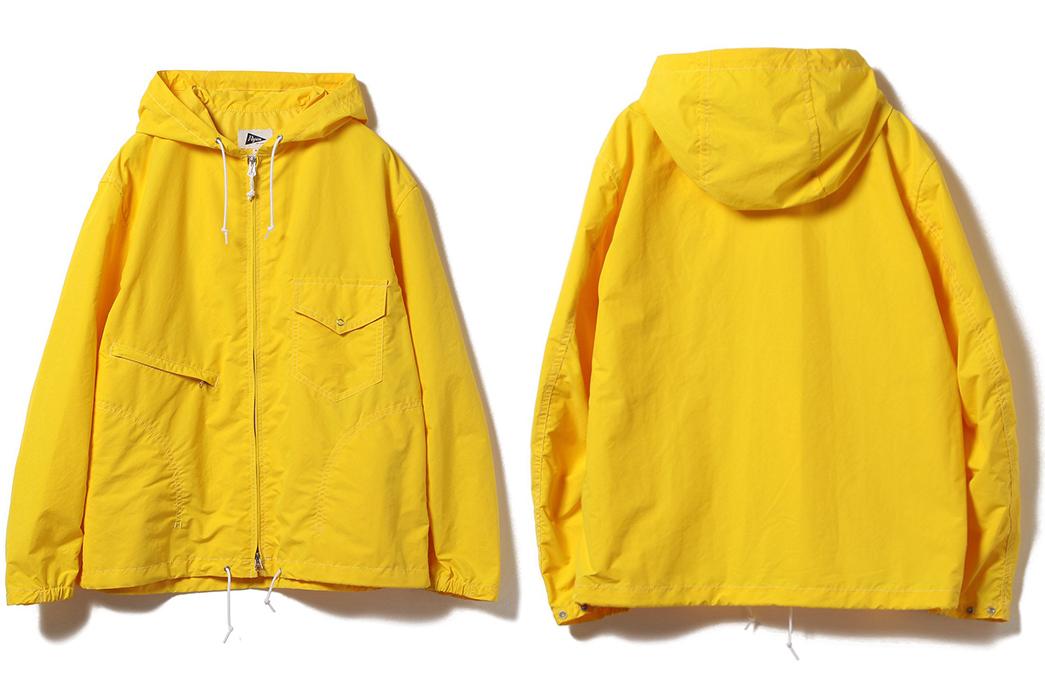 Pilgrim-Russel-Zip-Parka-yellow-front-back