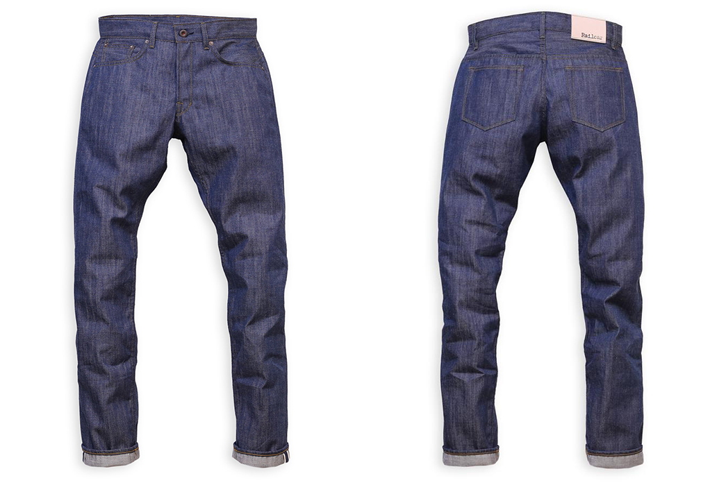 Railcar Has Only One Roll Left of This Unsanforized Cone Mills Denim