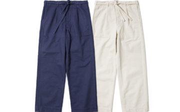 Red-Cloud-HBT-Drawstring-Pants,-Slacks-for-Slackers-blue-and-white-front