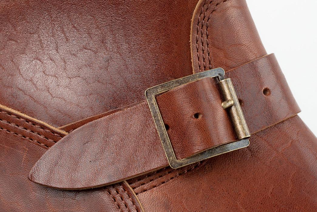 Standard-&-Strange-x-John-Lofgren-Devil's-Causeway-Horsehide-Engineer-Boot-single-buckle