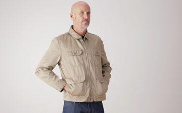 Tellason-Garage-Jacket-model-front