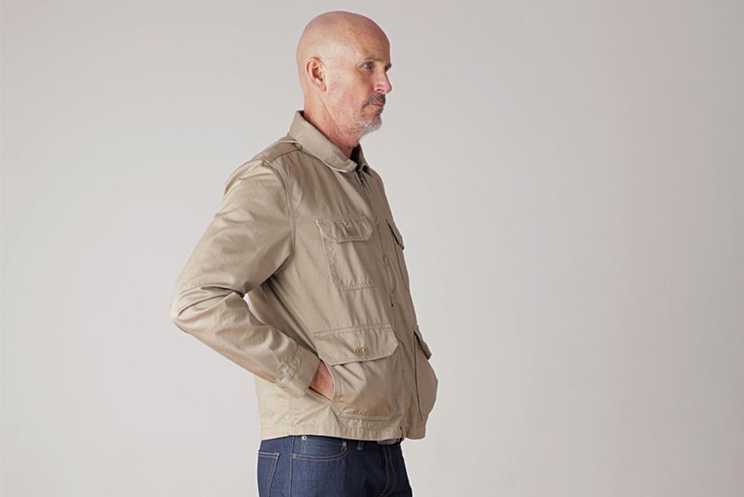 Tellason-Garage-Jacket-model-side