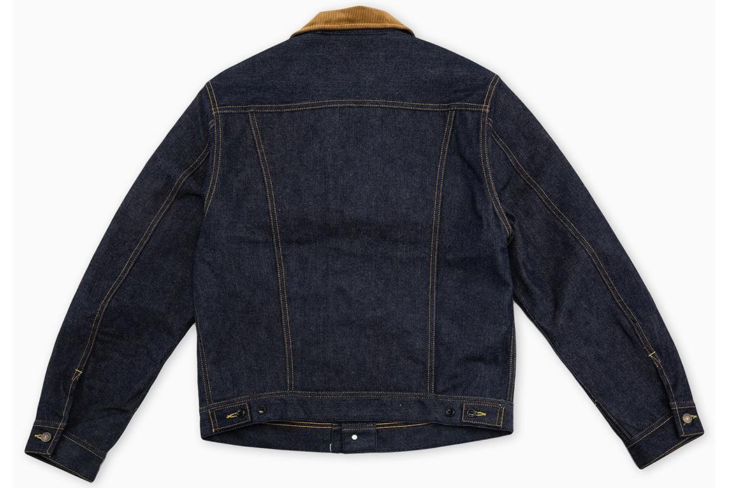 The-Real-McCoy's-Lot-002LJ-Denim-Jacket-back