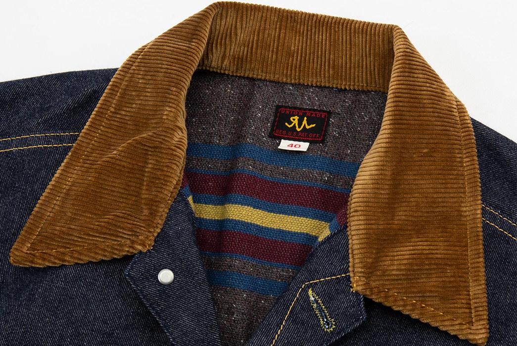 The-Real-McCoy's-Lot-002LJ-Denim-Jacket-front-collar