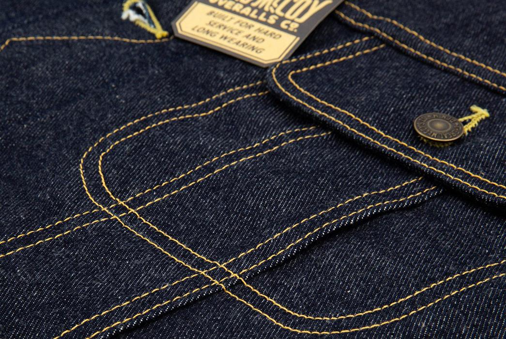 The-Real-McCoy's-Lot-002LJ-Denim-Jacket-front-pocket-2