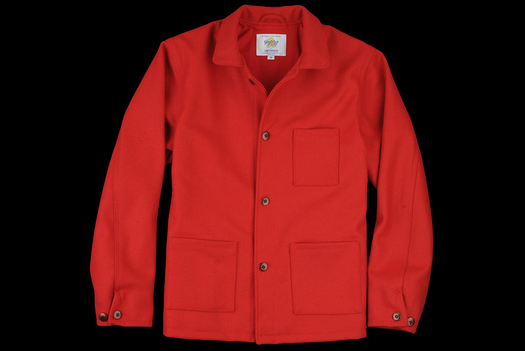 Unionmade-and-Golden-Bear's-Bayshore-Chore-Coats-are-Limited-to-1-of-1-red