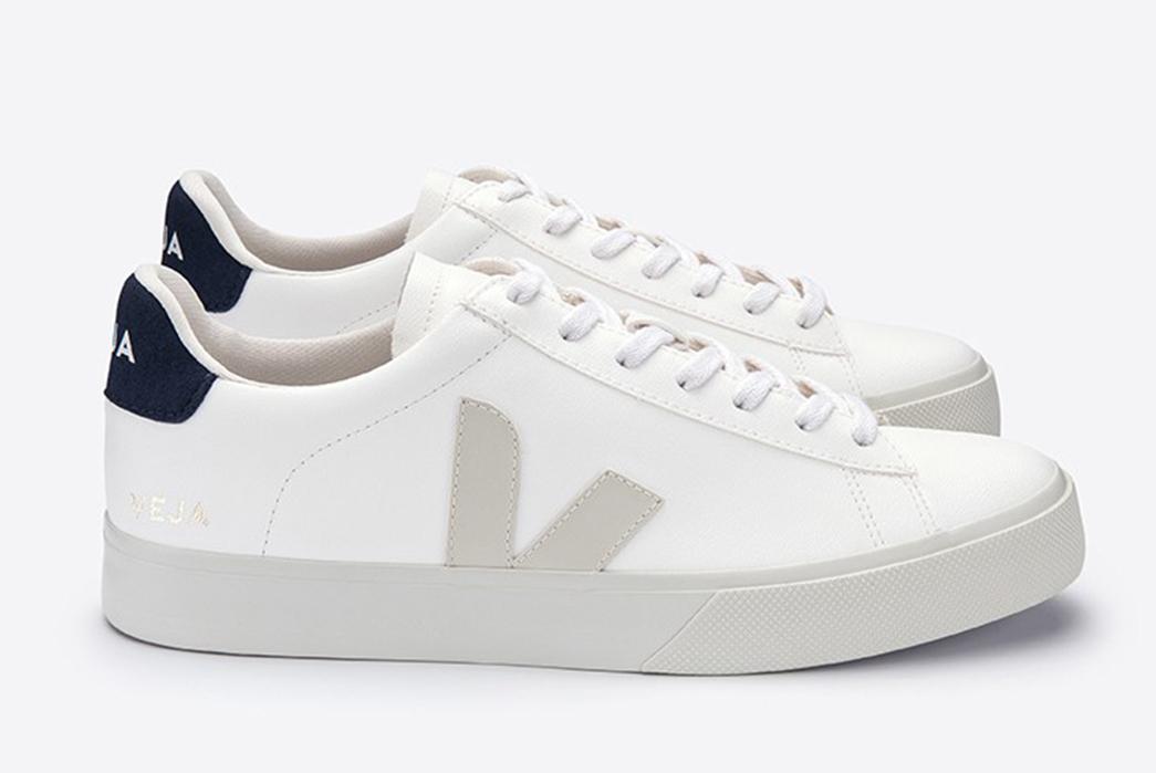 Veja-Serves-Up-Vegan-Campo-Sneakers-pair-side-grey-blue-white
