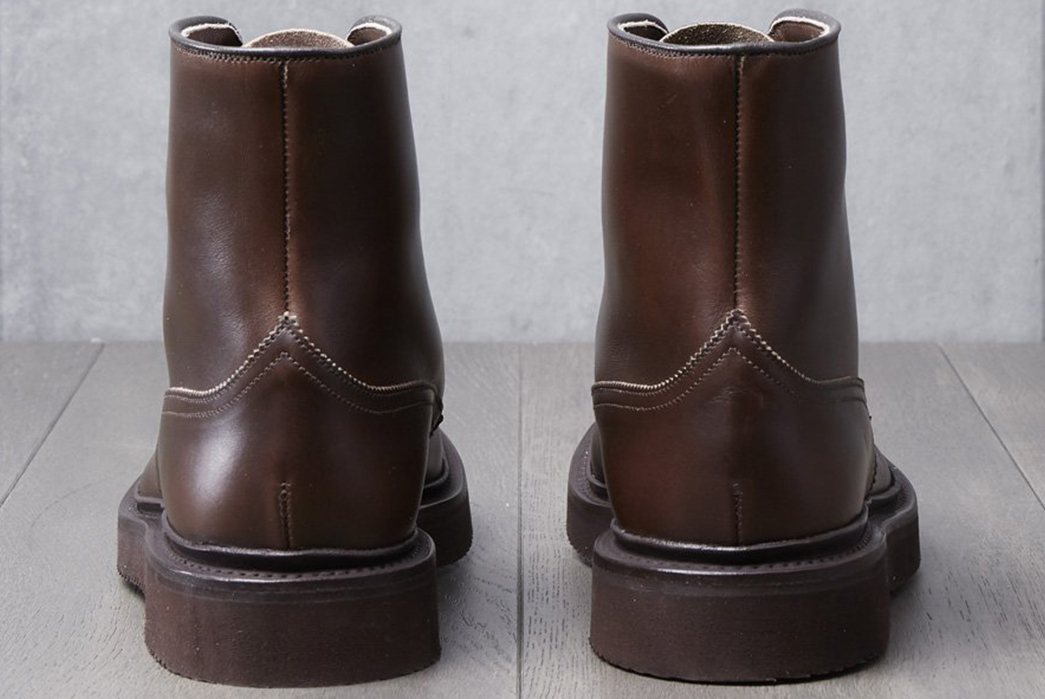 Wedge-Into-a-Pair-of-Division-Road-x-Tricker's-Churchill-Boots-pair-back