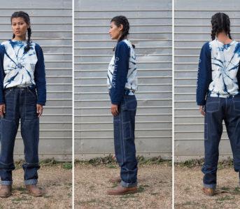 W'menswear-Double-Faced-Herringbone-Denim-pants-model-front-side-back