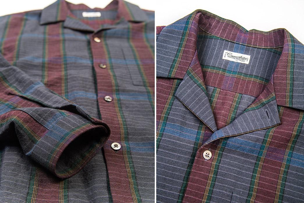 Camoshita-Shirt-Jackets-green-grey-wine-detailed