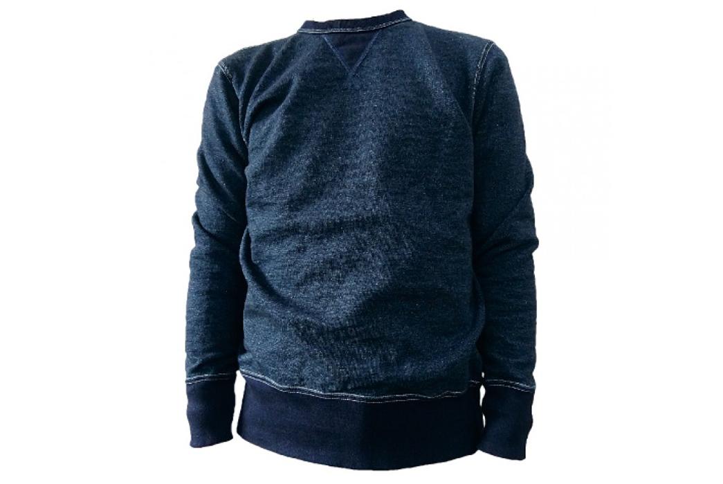 Deep-Indigo-Sweatshirts---Five-Plus-One-3)-Samurai-SIS17-101-Indigo