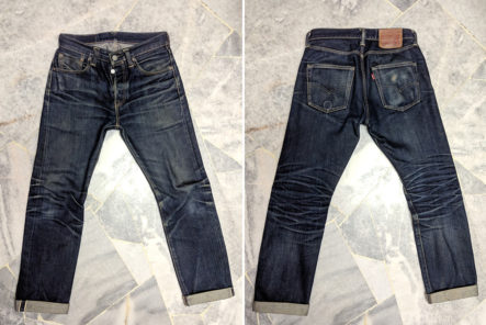 Fade-of-the-Day---Levi's-501-STF-(2.5-Years,-1-Wash,-2-Soaks)-front-back