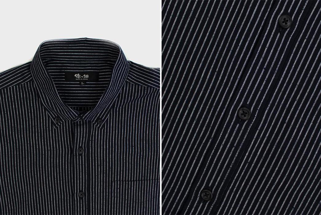 Kiriko-Long-Sleeve-Button-Up-Shirts-collar-and-buttons-2