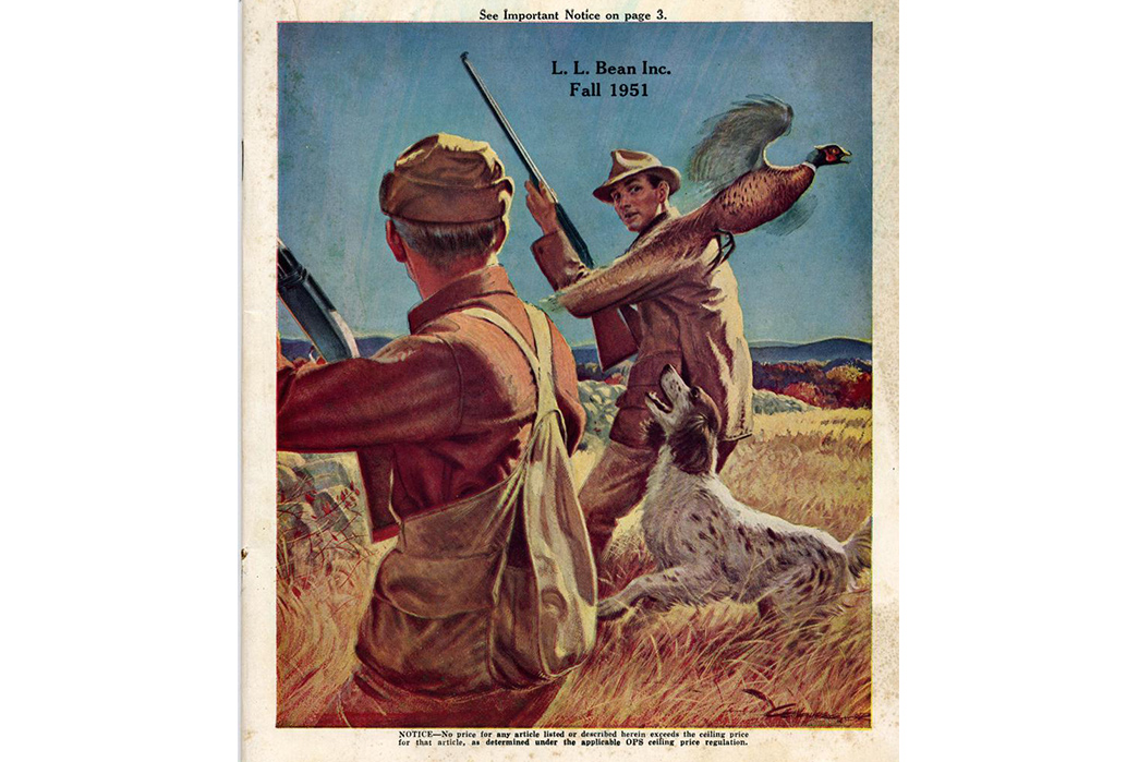 L.L.-Bean-History,-Philosophy,-and-Iconic-Products-Front-cover-of-the-1951-L.L.-Bean-catalog-via-AbeBooks