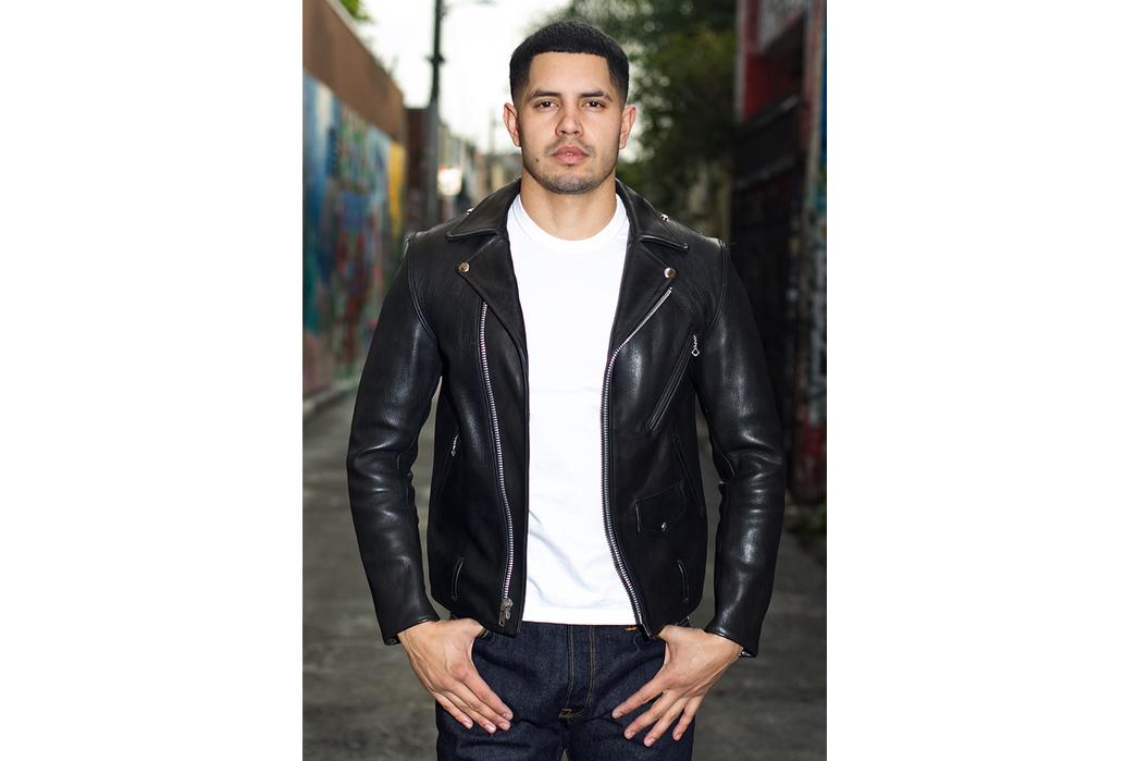 Leather-Jackets-Beyond-the-Schott-Perfecto-Fine-Creek-Leon-Custom.-Image-via-Self-Edge.