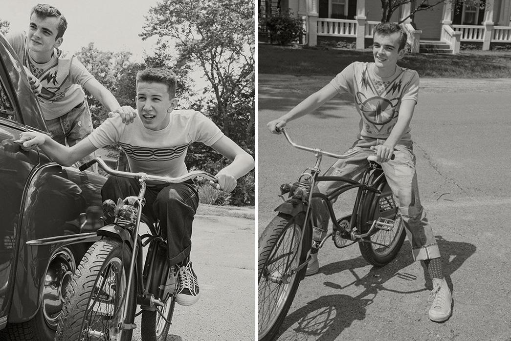 Levi's-Vintage-Clothing-SS19-on-bikes