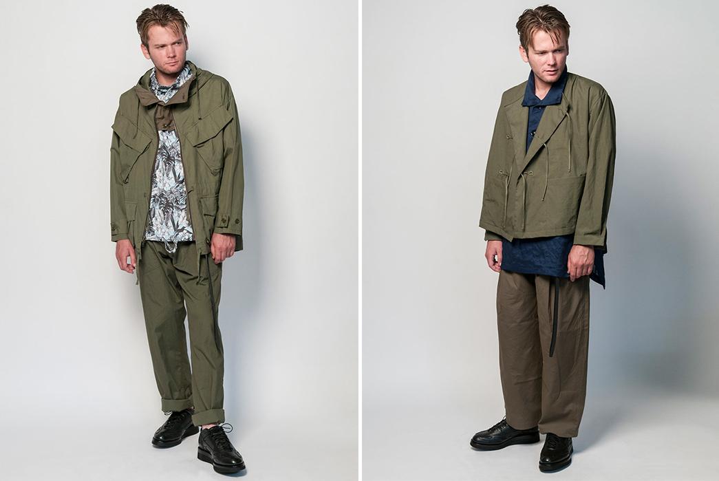 Monitaly-SS19-Lookbook-male-in-green