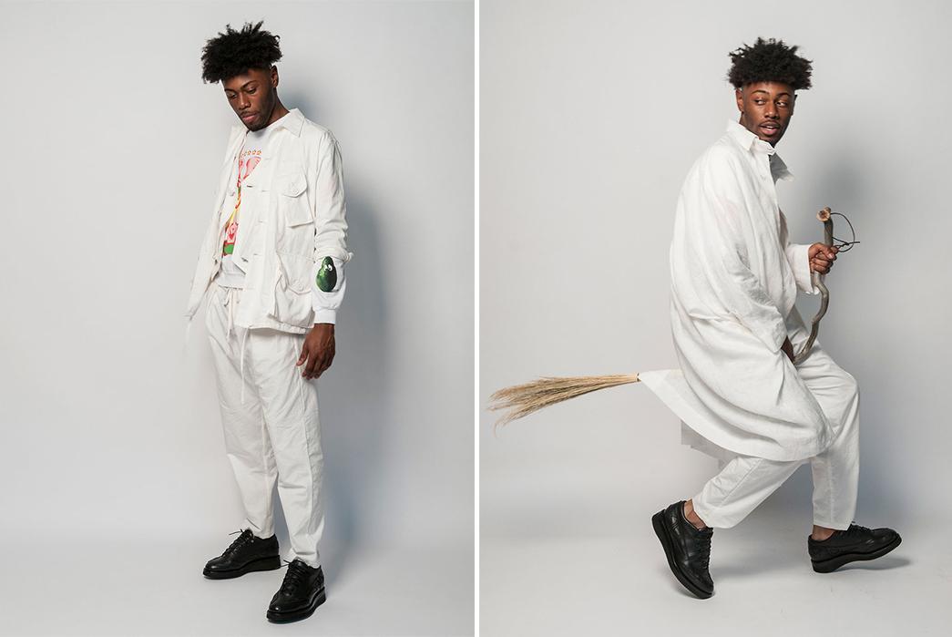 Monitaly-SS19-Lookbook-male-in-white-broom-2