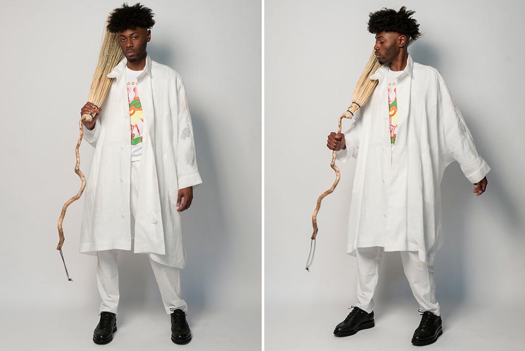 Monitaly-SS19-Lookbook-male-in-white-broom