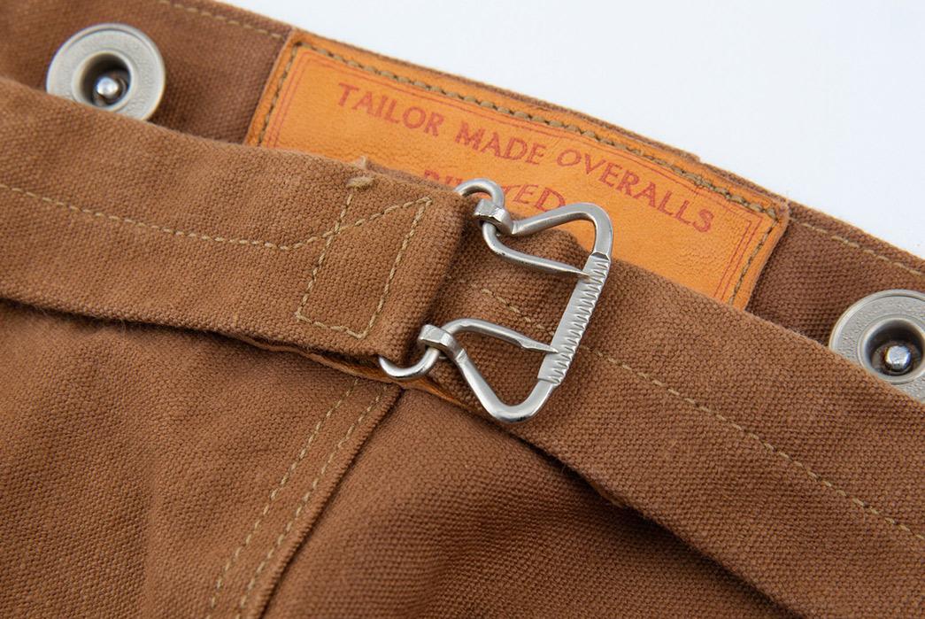 Ooe-Yofukuten-18700s-Tailor-Made-Waist-Overalls-back-top-buckle