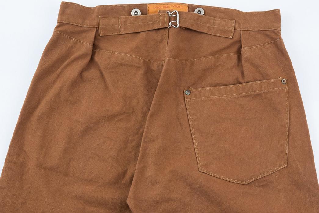 Ooe-Yofukuten-18700s-Tailor-Made-Waist-Overalls-back-top
