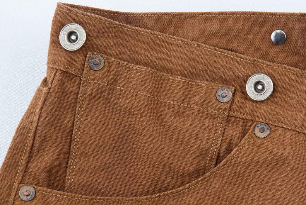 Ooe-Yofukuten-18700s-Tailor-Made-Waist-Overalls-front-top-right-pocket