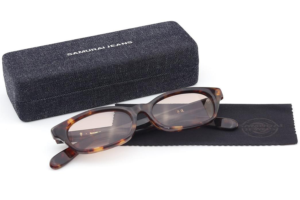Samurai-'Boss'-Celluloid-Glasses-brown-complet