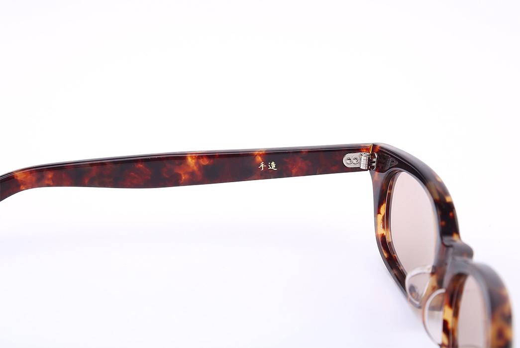 Samurai-'Boss'-Celluloid-Glasses-brown-yellow-inside-2